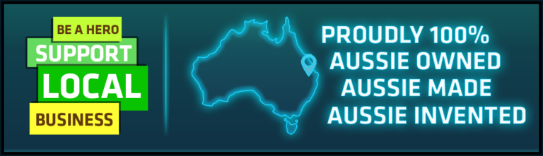 All of our hardware and content is made in Australia!