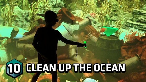 Clean up the bottom of the ocean with your vacuum cleaner
