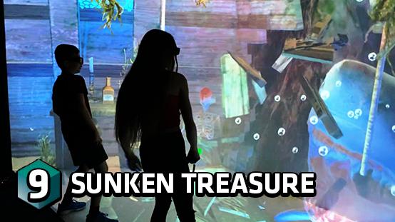 Hunt for underwater treasure